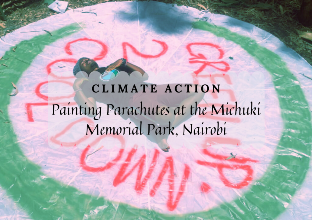 Painting-Parachutes-at-the-Michuki-Memorial-Park-Nairobi