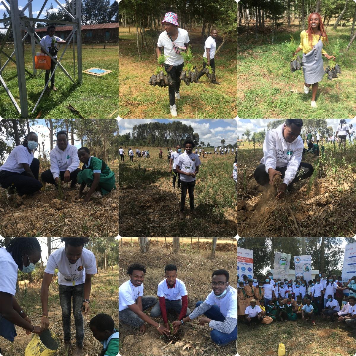 Celebrating World's Environment Day at Ndaragwa